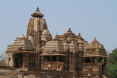 The Temple City of Khajuraho Royalty Free Stock Photography