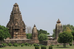 The Temple City of Khajuraho Stock Photos