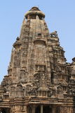 The Temple City of Khajuraho Stock Photography