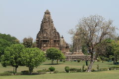 The Temple City of Khajuraho Stock Image