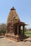 Temple City of Khajuraho in India. The Temple City of Khajuraho in India stock images
