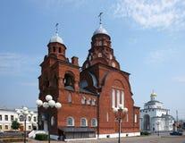 Temple in a city Vladimir Stock Photos