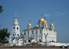Temple in a city Vladimir royalty free stock photos