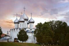 Temple in city of Vologda Stock Photo