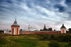 Temple in city of Vologda Royalty Free Stock Photography