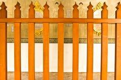 Temple clôturant Thaïlande (temple de Phra Kaew) Image libre de droits