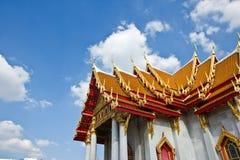 Temple clôturant Thaïlande (temple de Phra Kaew) Images stock