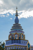 The temple with cloud Royalty Free Stock Images