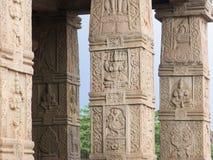 Temple Columns, Nanjangud. Royalty Free Stock Photos