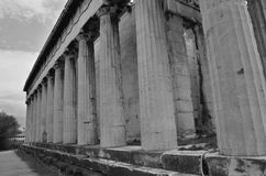 Temple Columns Royalty Free Stock Photography