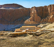 Temple commémoratif de Hatshepsut. Luxor, Egypte image libre de droits