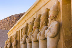 Temple commémoratif de Hatshepsut Luxor, Egypte photographie stock libre de droits