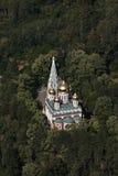 Temple commémoratif de la naissance du Christ images stock