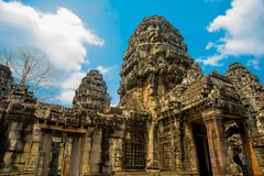 The temple complex of Angkor. Stock Photos
