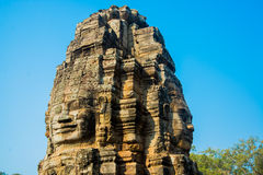 The temple complex of Angkor. Stock Images