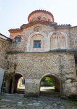 The temple complex Bachkovski monastery in Bulgaria Stock Images