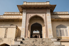 Temple Complex in Gatore Ki Chhatriyan Stock Image
