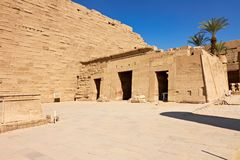 Temple Complex of Karnak, Egypt Stock Image