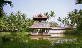 Temple complex in kochi stock photography
