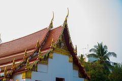 The temple complex of Phra Narai the city of Nakhon Ratchasima. Thailand. Stock Photography