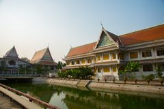 The temple complex of Phra Narai the city of Nakhon Ratchasima. Thailand. Stock Image