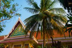 The temple complex of Phra Narai the city of Nakhon Ratchasima. Thailand. Royalty Free Stock Photography
