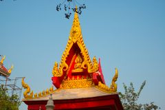 The temple complex of Phra Narai the city of Nakhon Ratchasima. Thailand. Royalty Free Stock Image