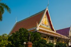 The temple complex of Phra Narai the city of Nakhon Ratchasima. Thailand. Royalty Free Stock Photo