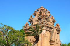 The temple complex Po Nagar, Ponagar Cham tower. Nha Trang. Vietnam Royalty Free Stock Image