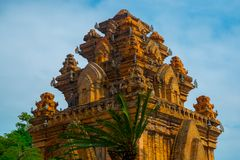 The temple complex Po Nagar, Ponagar Cham tower. Nha Trang.Vietnam Royalty Free Stock Photography