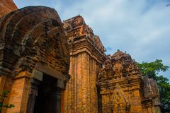 The temple complex Po Nagar, Ponagar Cham tower. Nha Trang.Vietnam Royalty Free Stock Images