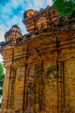 The temple complex Po Nagar, Ponagar Cham tower. Nha Trang.Vietnam Stock Image