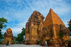 The temple complex Po Nagar, Ponagar Cham tower. Nha Trang.Vietnam Royalty Free Stock Image