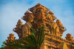 The temple complex Po Nagar, Ponagar Cham tower. Nha Trang.Vietnam Royalty Free Stock Photos
