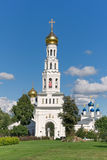 Temple complex in the village of Zavidovo. Russia. Royalty Free Stock Images