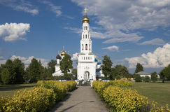 Temple complex in Zavidovo Stock Image