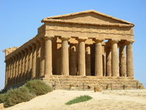 Temple of concord Royalty Free Stock Photo