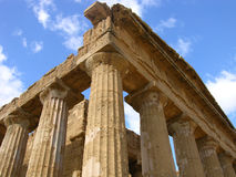 Temple of Concord. Ancient Greek Temple of Concord, in Agrigento, Sicily royalty free stock image