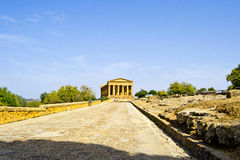 Temple of Concord Royalty Free Stock Photography