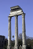 Temple of Concord, Forum Romanum Stock Photos