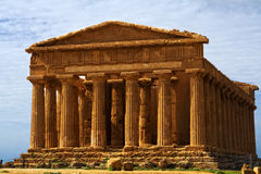 Temple of Concord - Sicily Royalty Free Stock Photos