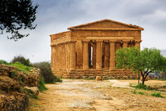 Temple of Concord - Sicily Royalty Free Stock Images
