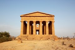 The Temple of Concord at the Valley of the Temples Royalty Free Stock Photo