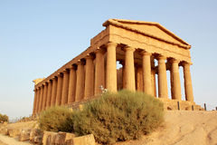 The Temple of Concord at the Valley of the Temples Stock Photography