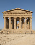 Temple of concord valley of the Temples agrigento sicily Italy europe Stock Images