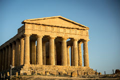 Temple of Concord Royalty Free Stock Photos