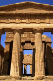 Temple of Concordia Royalty Free Stock Images