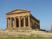 Temple of Concordia Stock Photography