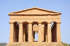Temple of Concordia. Stock Photography