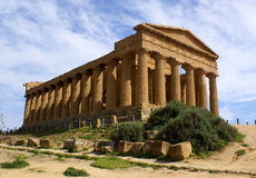 Temple of concordia Stock Photo